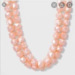 NWT Sugarfix by Baublebar Pink Statement Necklace